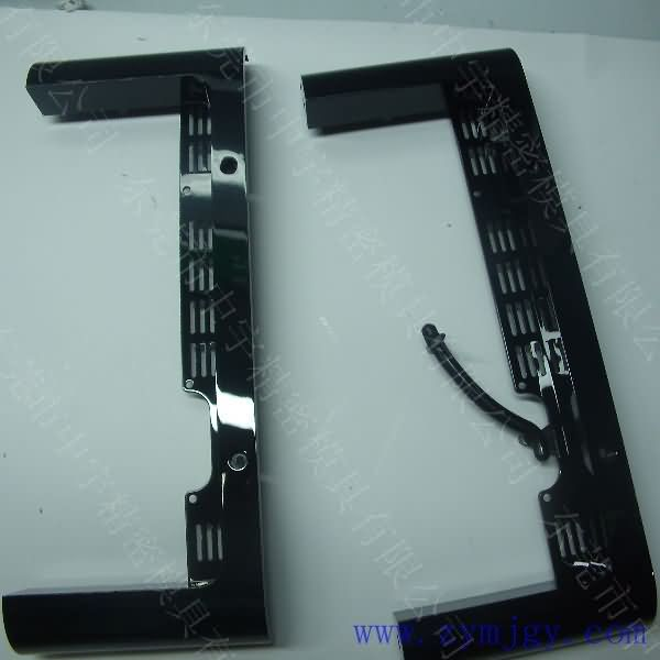 Plastic high gloss injection molding