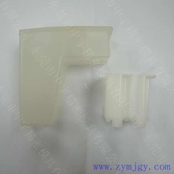 Transparent injection molded parts